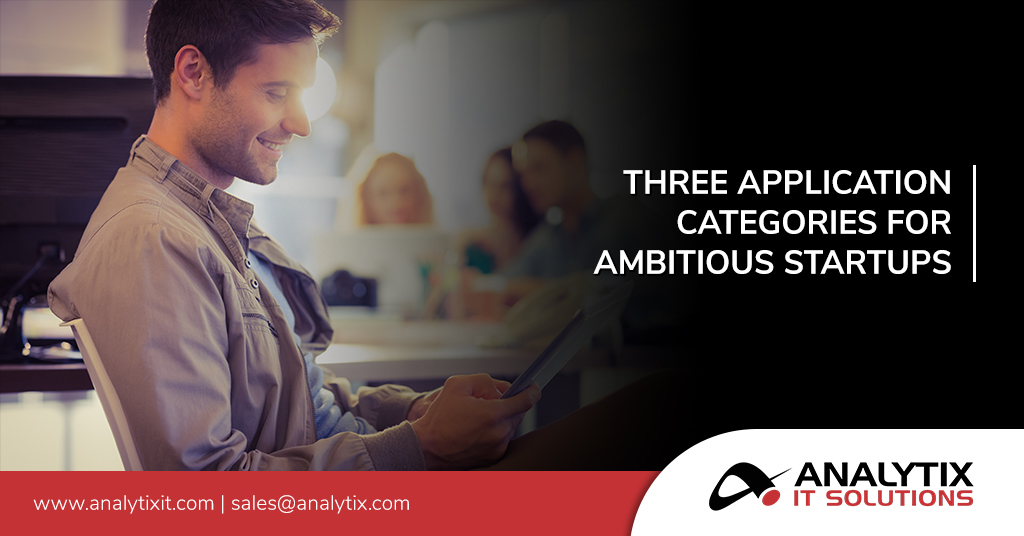 Three Application Categories for Ambitious Startups